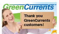 Thank you Green Currents customers
