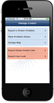 Mobile outage reporting